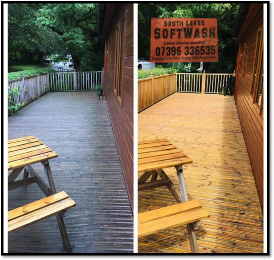 Decking and Driveway Cleaning Lake District